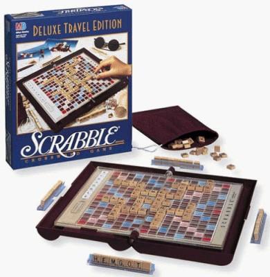 Scrabble Deluxe Travel Edition Scrabble Crossword Deluxe Travel Edition Board Game