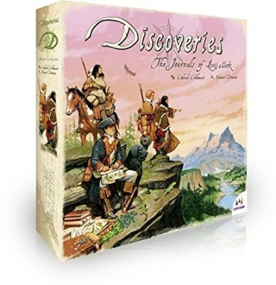 Asmodee Discoveries The Journals Of Lewis And Clark Board Game