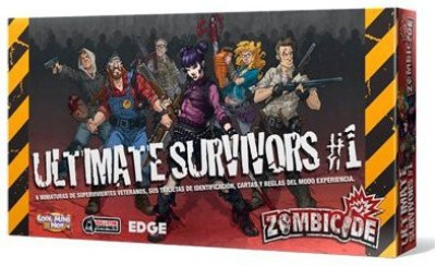 CoolMiniOrNot Zombicide Box Of Zombies 1 Ultimate Survivors Board Game