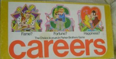 Careers Board Game 1976 Edition Car293 Board Game
