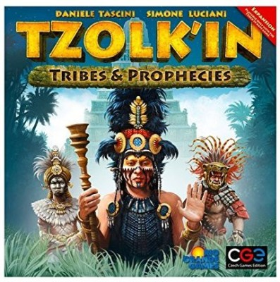 Rio Grande Games Tzolk,In Tribes And Prophecies Board Game