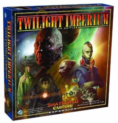 Fantasy Flight Games Twilight Imperium Shattered Empire Expansion Board Game