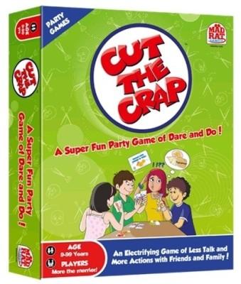 MadRat Games Cut the Crap Board Game