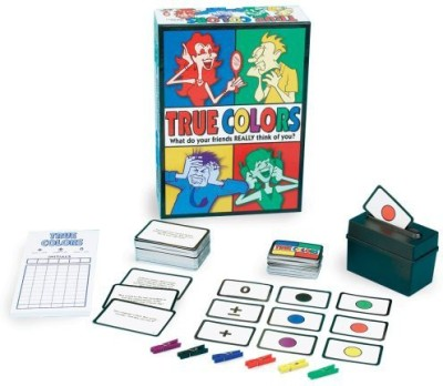 Pressman Toy True Colors Board Game