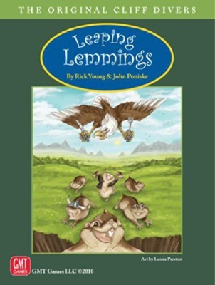 GMT Games Leaping Lemmings Board Game
