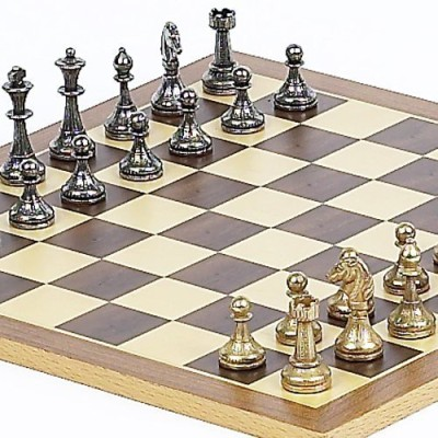 Bello Games New York, Inc. Stefano Jrchessmen From Italy And Houston St Chess Board Game
