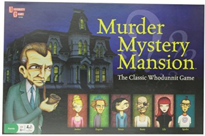 University Games Murder Mystery Mansion Children,S Board Game