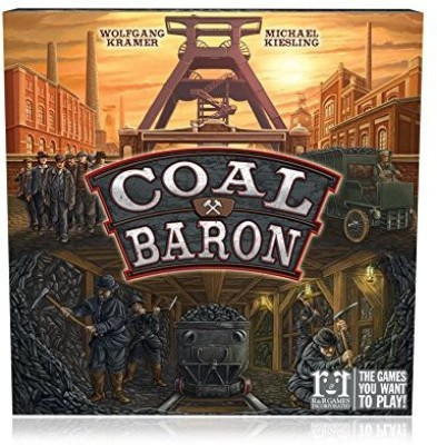 R & R Games Coal Baron Board Game