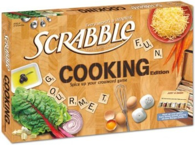 USAopoly Cooking Scrabble Board Game