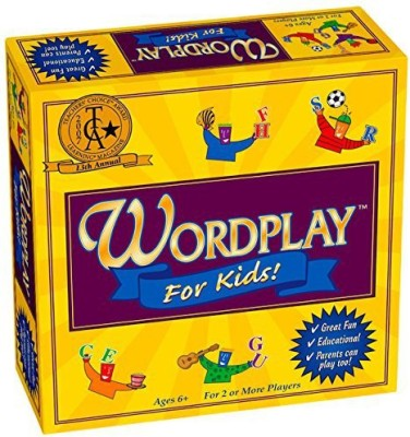 Game Development Group Wordplay For Kids Board Game