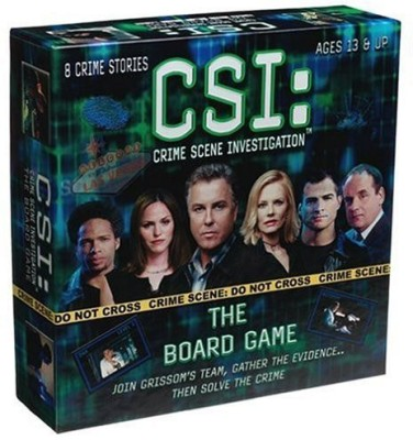 Specialty Board Games Csi Crime Scene Investigation The Board Game