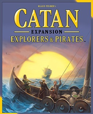 Mayfair Games Catan Explorers & Pirates Expansion 5Th Edition Board Game