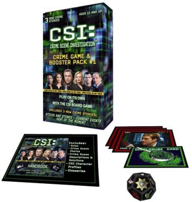 Specialty Board Games Csi Crime Booster Pack Board Game