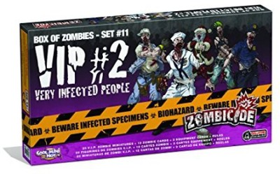 CoolMiniOrNot Zombicide Box Of Zombies 11 Very Infected People 2 Board Game