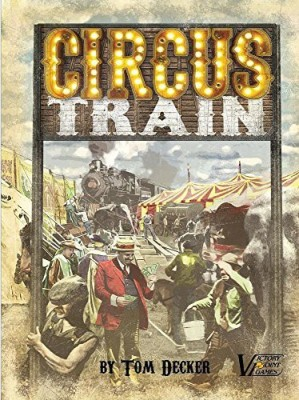 Victory Point Games Circus Train Circus Management Euro Family Boxed Board Game