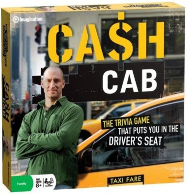 Imagination Cash Cab Board Game