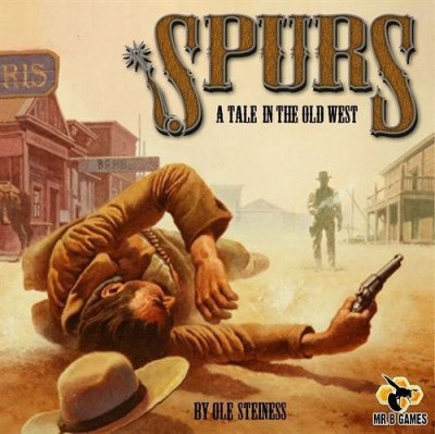 Mr. B Games Spurs A Tale In The Old West Board Game