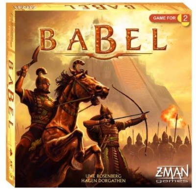 Z-Man Games Babel 2Player Board Game
