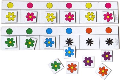 Clever Cubes Floral Fun Board Game