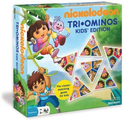 Pressman Toy Nickelodeon Triominos For Kids Board Game