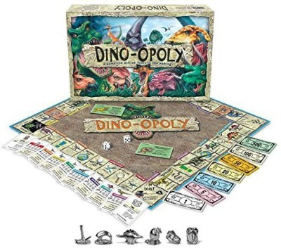 Late for the Sky Dinoopoly Monopoly Board Game
