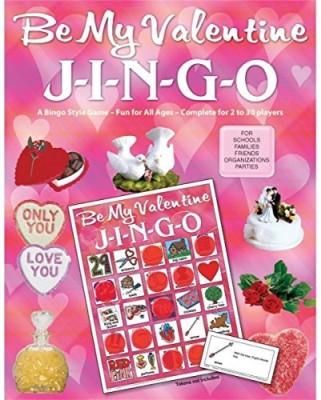 GARY GRIMM & ASSOCIATES Jingo Valentine Board Game