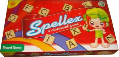 Toyzstation Spellex Crossword Board Game