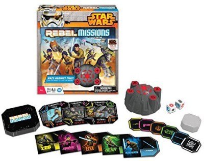 Wonder Forge Star Wars Rebel Missions Board Game