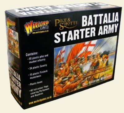 Warlord Games Pike & Shotte Battalia Army Starter Box Set Muskets Board Game