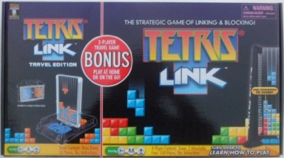 Techno Source Tetris Link Play At Home With Bonus 2 Player Travel Included Board Game