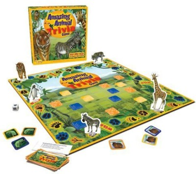 i play. Iplay Amazing Animal Trivia Board Game