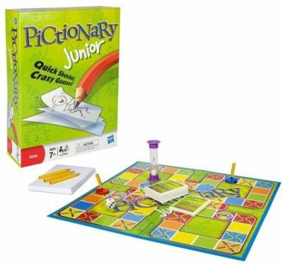 Pictionary Junior 17046 Board Game