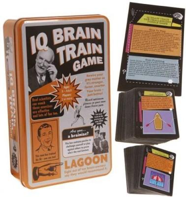 Family Games Iq Brain Train Board Game