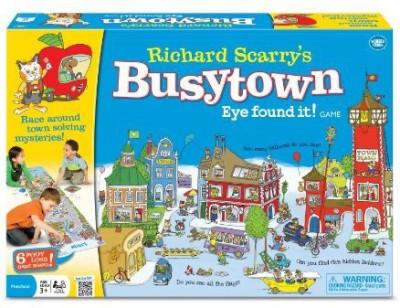 Wonder Forge Richard Scarry,S Busytowneye Found It Board Game