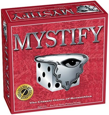 Game Development Group Mystify Word Scramble Board Game