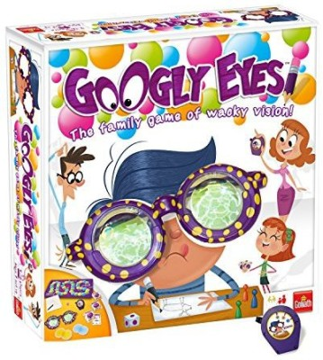 Goliath Games Googly Eyes Family Drawing With Crazyvisionaltering Glasses Board Game