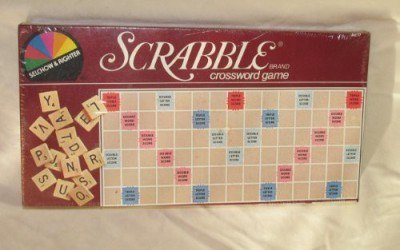 Selchow & Righter Edition [Toy] Scrabble 1983 Board Game