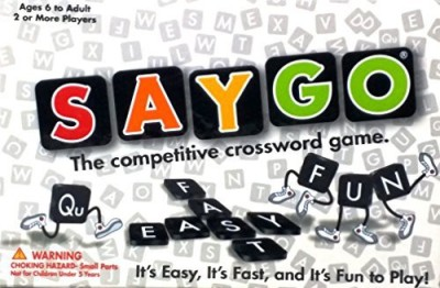 SAYGO Games Saygo The Competitive Crossword Board Game