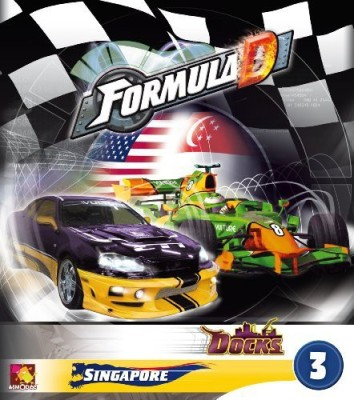 Asmodee Formula D Expansion 3 Docks And Singapore Board Game