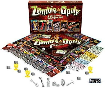 Late for the Sky zombieopoly Board Game