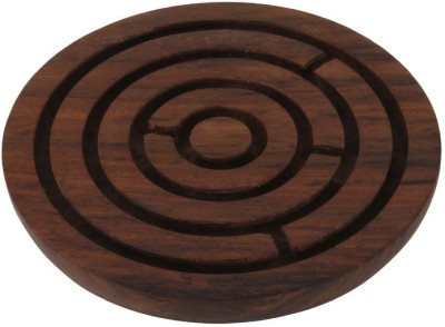Craft Art India Handcrafted Wooden Labyrinth Board Game
