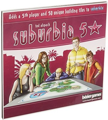Bezier Games Suburbia 5 Star Board Game