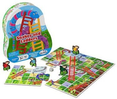 Toys R Us 1001325 Pavilion Snakes And Ladders Board Game