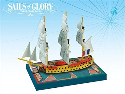 Ares Games Sails Of Glory Ship Pack Le Berwick 1795 Board Game