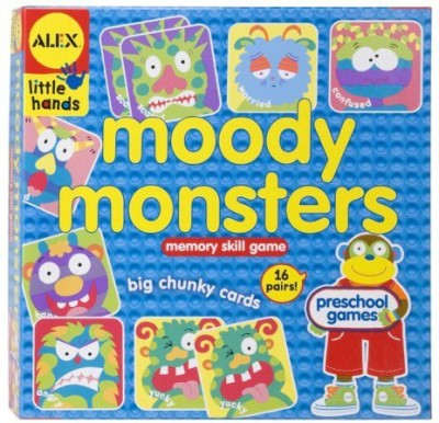 ALEX Toys Little Hands Moody Monsters Board Game