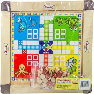Annie Annie Tambola & Ludo 2 In 1 Board Game
