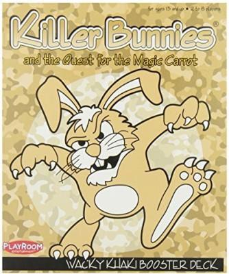 Playroom Entertainment Killer Bunnies Khaki Booster Board Game