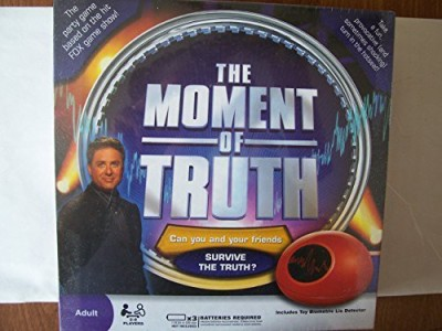 Selchow & Righter The Moment Of Truth Board Game