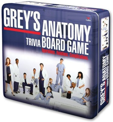 Cardinal Industries Grey,S Anatomy Board Game