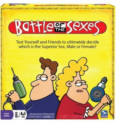 Spin Master Games Battle Of The Sexes Board Game